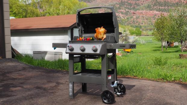 Halstead Gazette: The Weber Spirit II E-310 remains the best gas BBQ we've tested. Credit: Reviewed