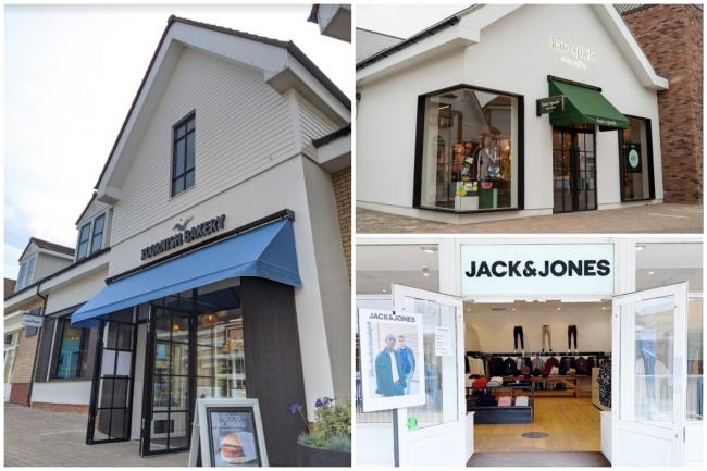 The three new shops have all opened since Braintree Village reopened in June