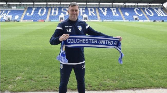 Steve Ball Picture: Colchester United