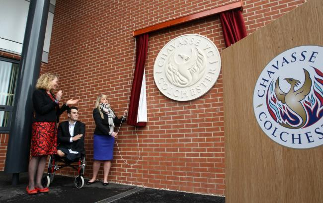 The opening of Chavasse House in 2012