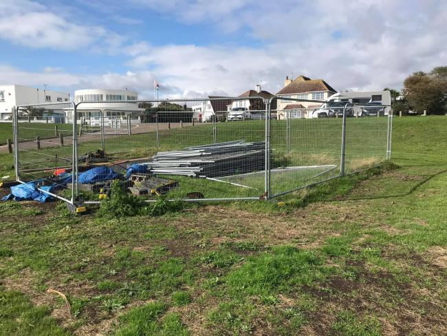 SEAFRONT EYESORE: Frinton residents are calling on Tendring Council to clean up their mess