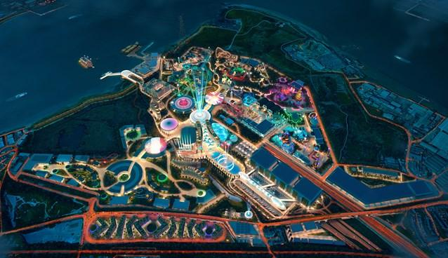Sneak peak: What the theme park could look like at night  Pictures: The London Resort