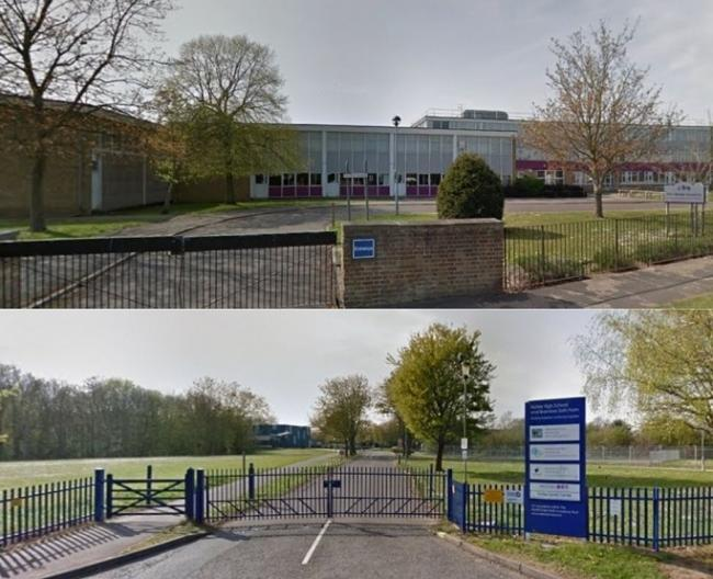 Alec Hunter Academy and Notley High School