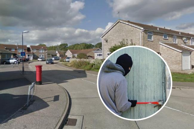 Masked thugs armed with machetes and hammers attack man with 'acid'