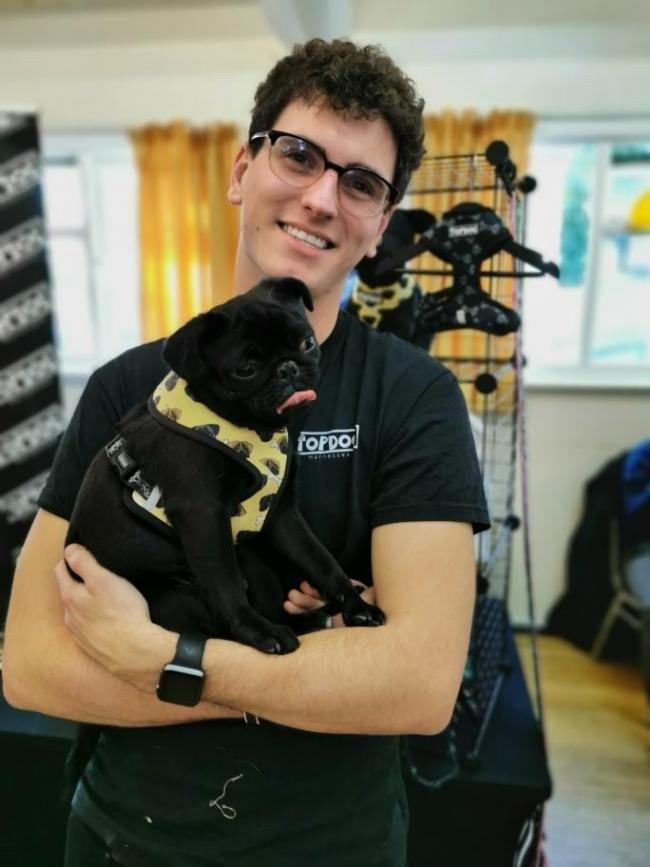 Meet the pug-mad paramedic from Colchester whose pet accessory business has boomed in lockdown