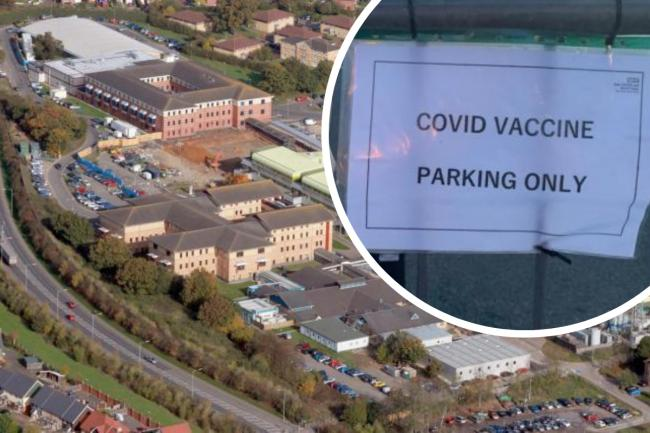 Priority patient hit with parking fine getting Covid vaccination
