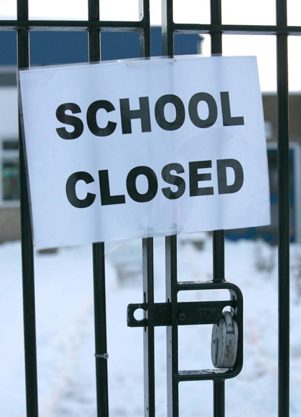 Braintree district: School closures and delayed opening times