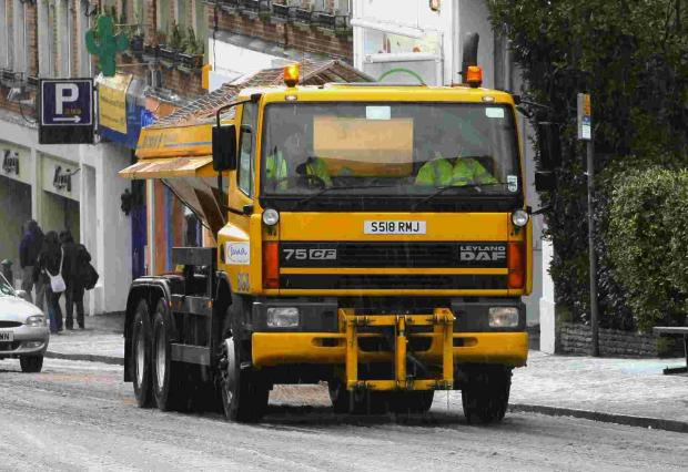 Halstead: Cars stopped gritter getting to primary school