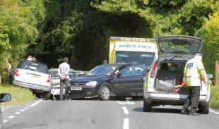 Hedingham Road is renowned for the number of accidents along a short two-mile stretch