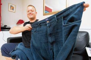 Halstead: Slimmer of the year Marc drops 10 stone
