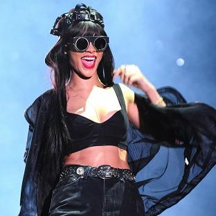 Rihanna performs at Radio 1's Hackney Weekend