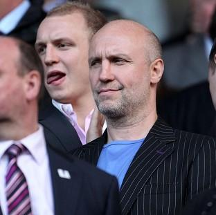 Brian Kennedy, centre, has confirmed reports he made a bid for Rangers