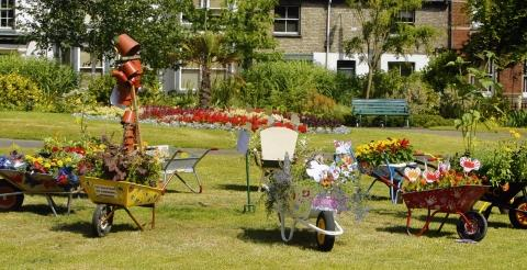 Halstead: Town scoops Britain in Bloom title