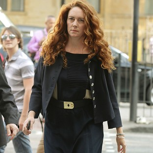 Former News International chief executive Rebekah Brooks arrives at Westminster Magistrates' Court in London
