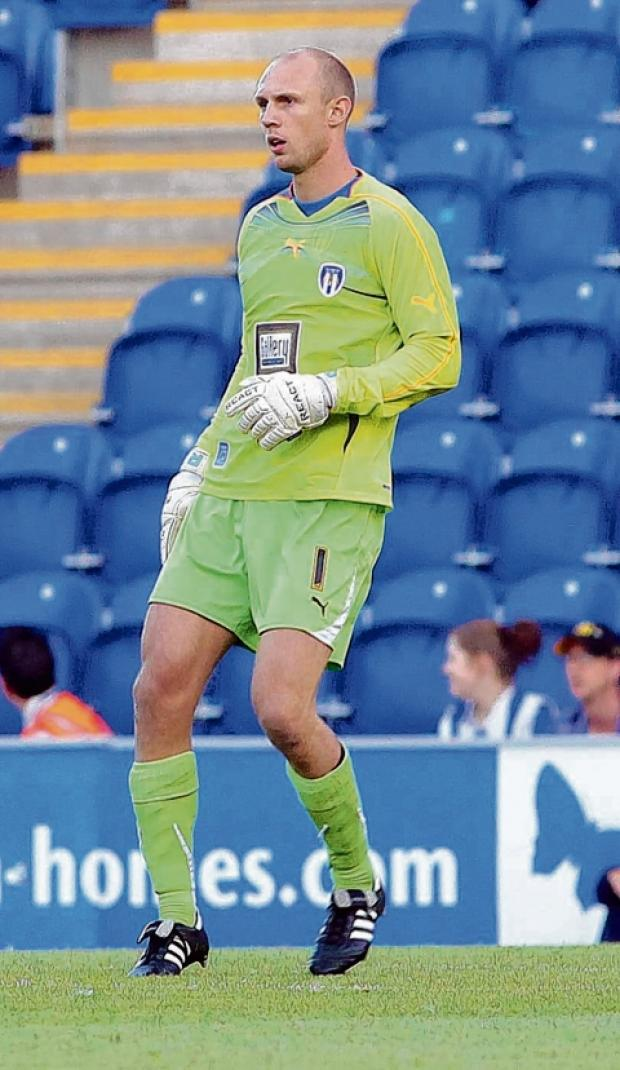 Halstead Gazette: Pastures new - Mark Cousins has ended his long association with Colchester United after joining League Two side Dagenham and Redbridge.