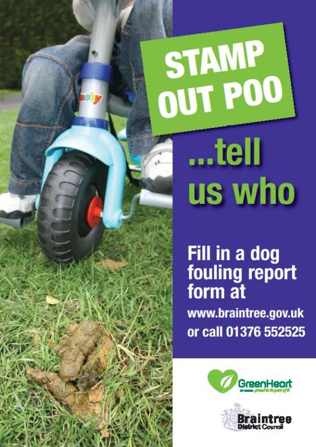 Halstead: Dog fouling 'grot spots' named