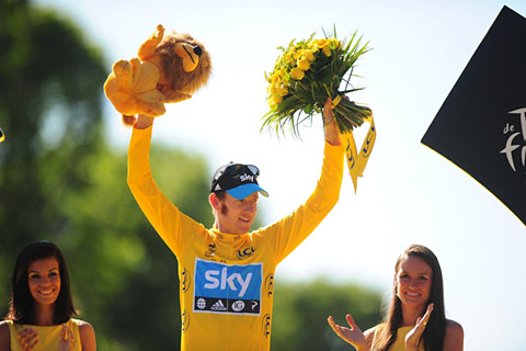 British favourite and 2012 champion Sir Bradley Wiggins will be among the competitors