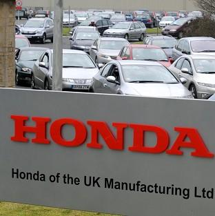Staff at Honda's Swindon plant were told about impending job cuts as they arrived for work on Friday morning