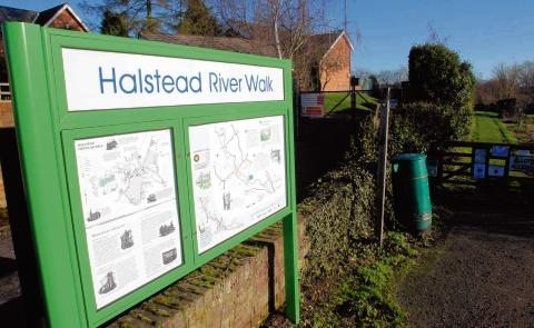 Halstead: Completion of River Walk project delayed by wet weather