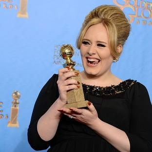 Halstead Gazette: Adele won an award for best original song in a motion picture for Skyfall (Jordan Strauss/Invision/AP)