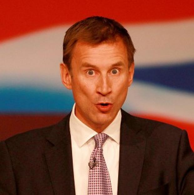 Jeremy Hunt is calling for patient records to be made fully digital by 2018