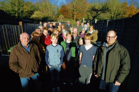 Halstead Gazette: Campaigners opposed to Tesco