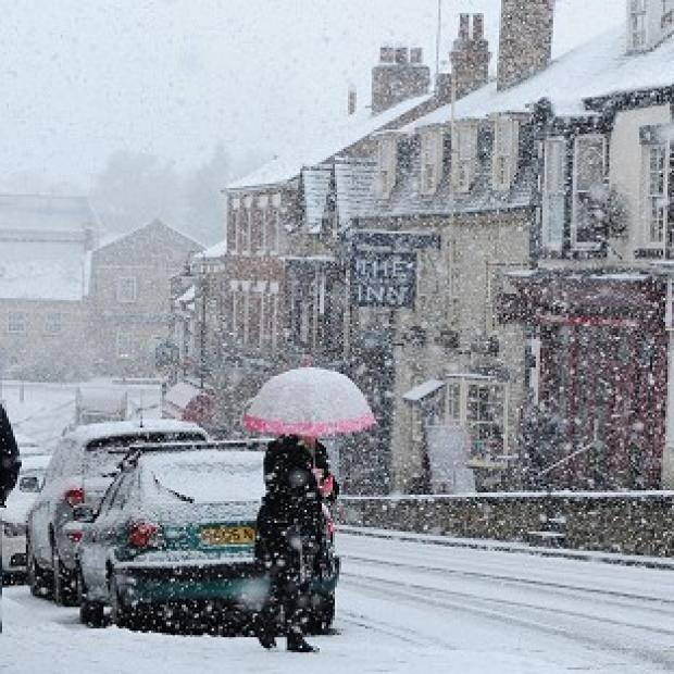 Forecasters warned another blast of wintry weather is on the way