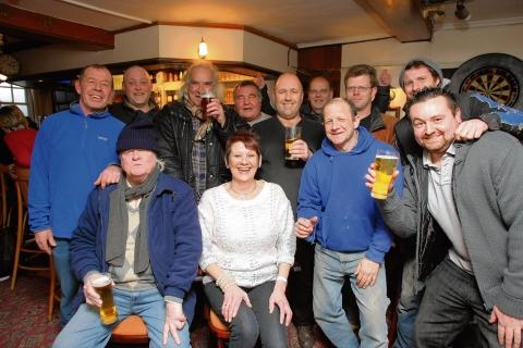 Halstead: Pub punters hold party for long-serving barmaid