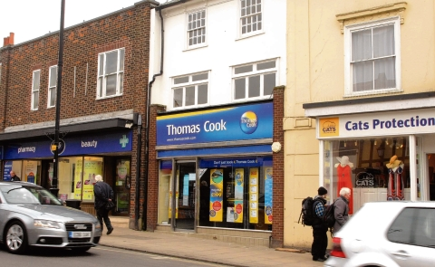 Thomas Cook in Halstead High Street