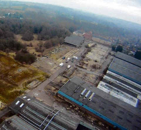 Halstead: Travellers move on from former factory site