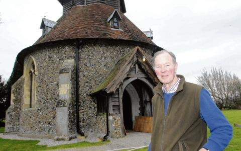 Halstead: Round church halfway towards fundraising target