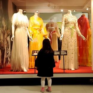 The Hollywood Costume exhibition helped boost visitor numbers at the Victoria and Albert Museum