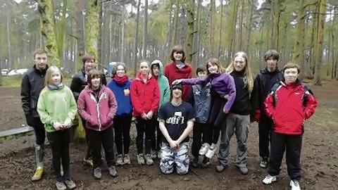 The orienteering team