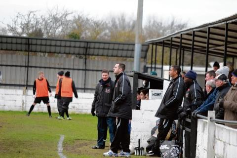 Witham are getting up to spedd for premier division test
