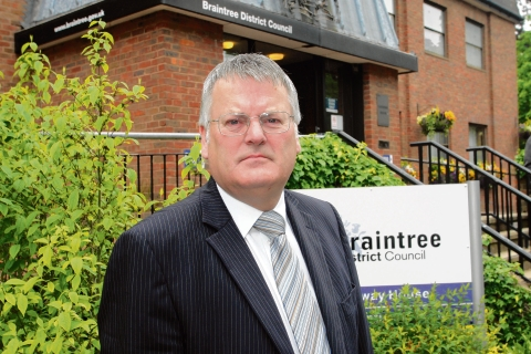 Council leader Graham Butland supports the proposals