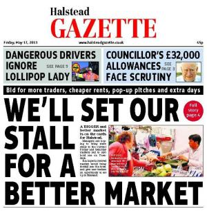 IN THIS WEEK'S HALSTEAD GAZETTE: COMMUNITY CLUB WILL FIGHT ON FOR REVAMP, CARE HOME NURSE FACES DISCIPLINARY HEARING AFTER FALL