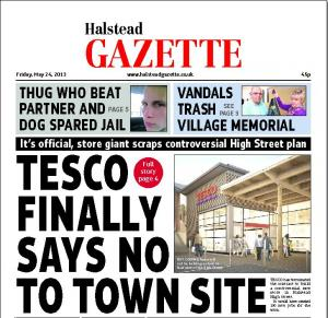 IN THIS WEEK'S HALSTEAD GAZETTE: TRADERS FEAR AFTER LAPTOPS STOLEN, THUG BANNED AFTER ATTACK ON PET DOG