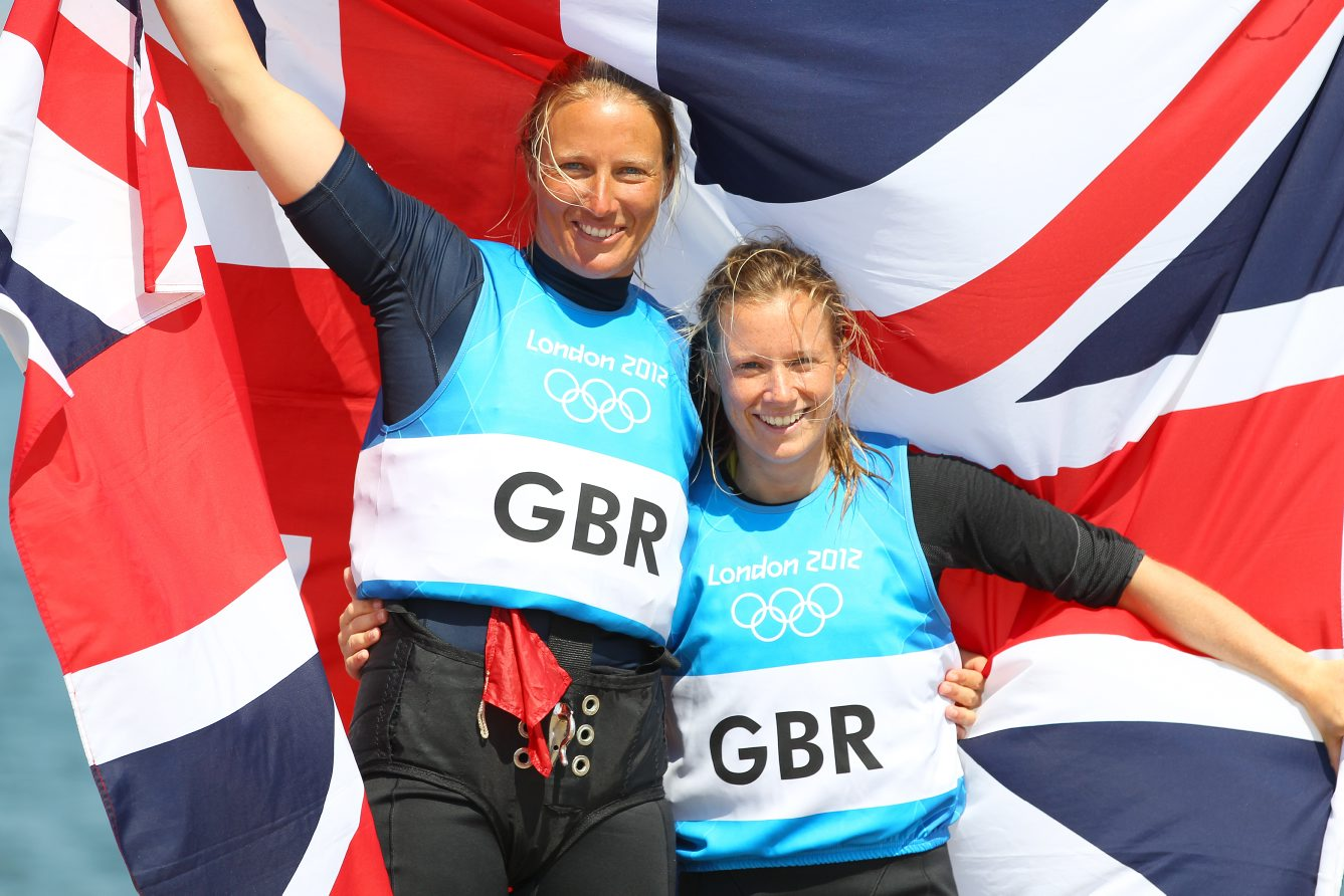Ideal preparation - West Mersea sailor Saskia Clark (left, pictured with helm Hannah Mills) is looking forward to travelling to Brazil as part of a British Sailing test event.