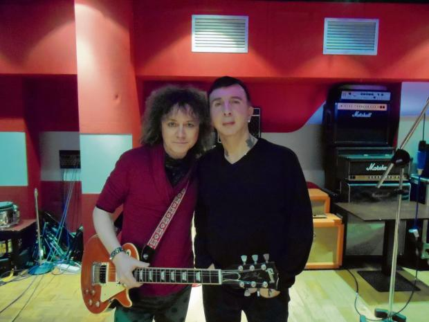 Danielz (left) and Marc Almond (right)