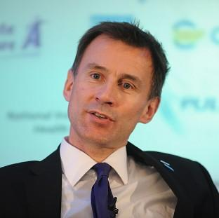 Jeremy Hunt says every patient in the NHS has a righ