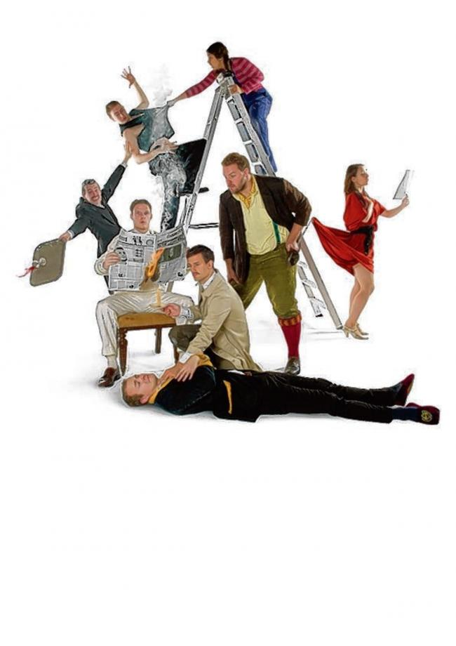 The Play That Goes Wrong will be on stage next week