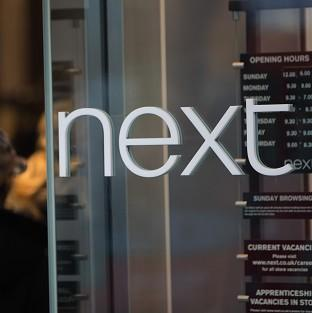 Fashion chain Next said sales were strong in the run-up to Christmas