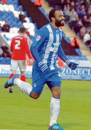 Staying put - Dominic Vose is set to agree a new two-year deal with Colchester United.