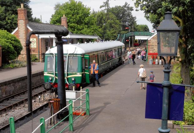 Colne Valley Railway wants more volunteers to get on board