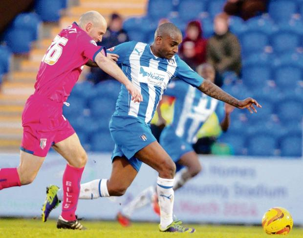Farewell - Clinton Morrison will make his final Colchester United appearance at Walsall tomorrow after it was agreed he would leave the U's in the summer.