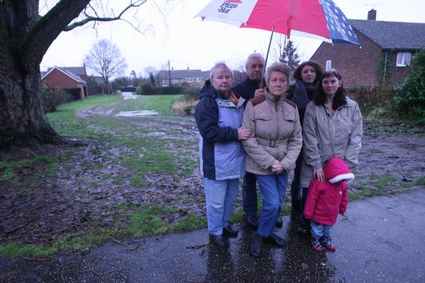 Residents determined to win battle over 'village green' land