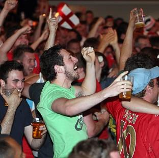 Halstead Gazette: England supporters may get the chance to watch the Italy game in the pub after all.