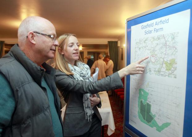 Halstead Gazette: Residents attended a public meeting on the plans in October