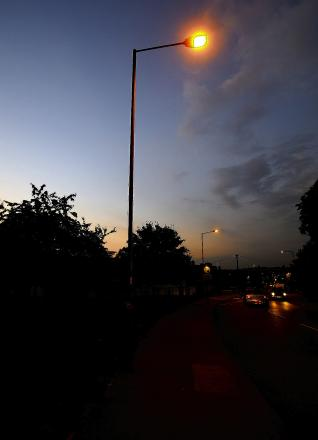 Street lights can stay off after no crime increase, say police