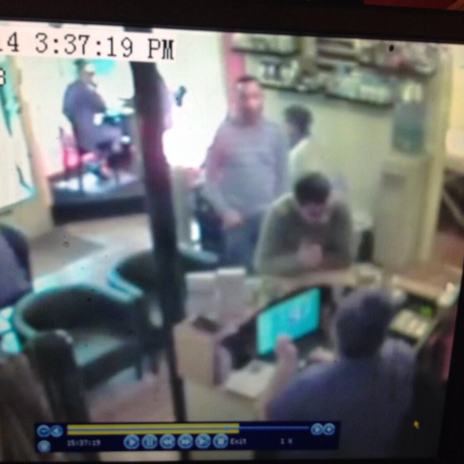 Video: Nail bar owner posts CCTV footage online after phone theft
